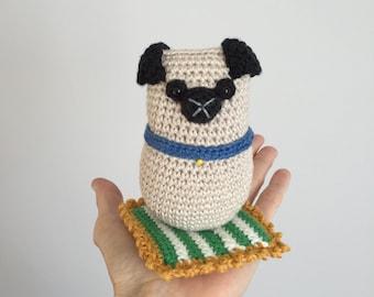 Tubby Pug Crochet Pattern