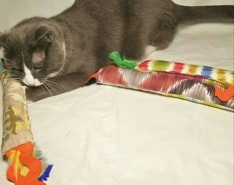 Kick sticks, Cat nip toy, Feathered cat nip toy, Cat nip cat toy, Gifts for pets, Cat stuff