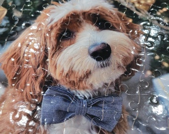 Custom Picture Puzzle, Custom Photo Puzzle, Create your own Puzzle, Personalized Puzzle, Cardboard Puzzle