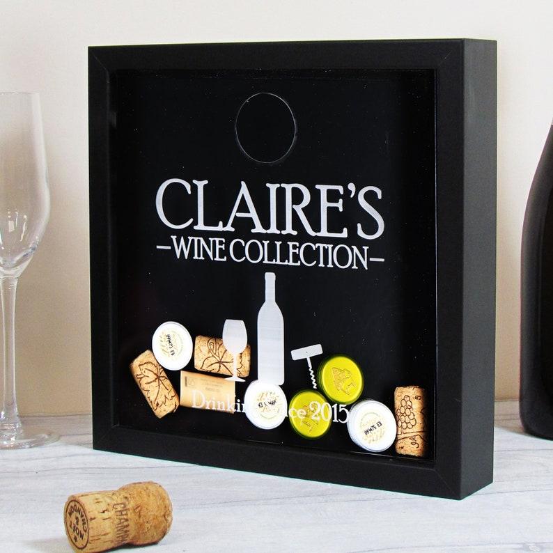Wine Cork Holder Wine Shadow Box Wine Cork Shadow Box Wine Etsy
