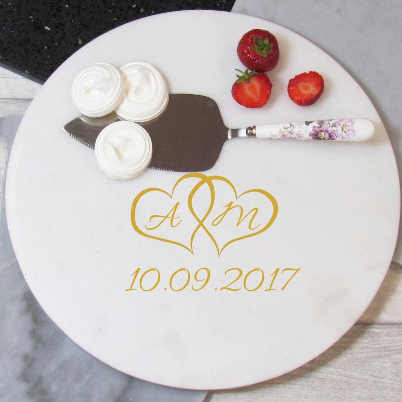 Personalisierte Marmor Kuchenplatte Platte Marmor Marmor | Etsy