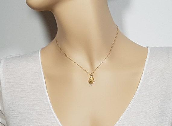 Vintage Style Tiny Evil Eye Fatima Hand Jewelry Dainty Earrings Sterling Silver Luck Jewish Judaica Jewellery Hamsa Earrings Gift