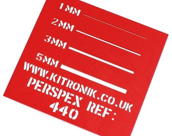 A4 5 Sheets High Gloss Bulk 3mm x 297mm x 210mm Clear Perspex Sheet Cast