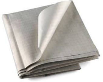 "Conductive Fabric, Ripstop e textiles silver plated highly conductive 12""x13"""