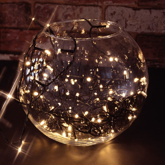 Outdoor Battery Operated Led String Lights With Timer Function Cool White 120 Led