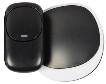 Wireless Plug-in Doorbell with LED Alert Ideal for hard of hearing