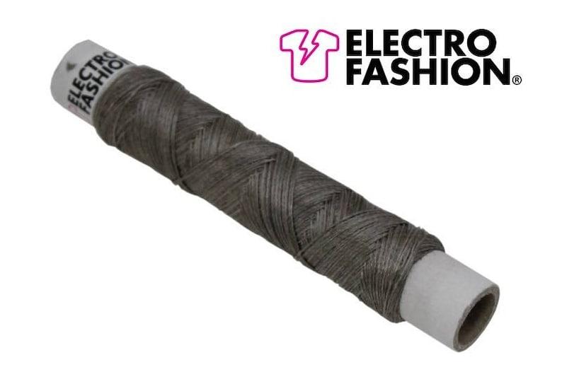 Electro-Fashion conductive thread 250M Conductive Thread e textiles