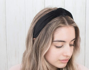 Clothing, Shoes & Accessories Able Large Embroidery Flower Headband Wide Alice Band Hair Band Head Wrap Women Girls