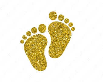 free baby feet heart clipart - transparent background baby clip art PNG  image with transparent background | TOPpng