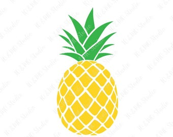 Pineapple Svg Etsy
