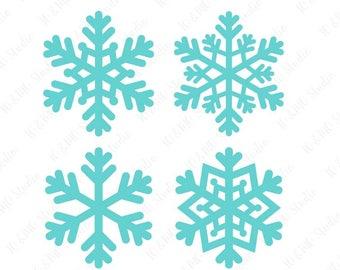 Snowflake Svg Etsy