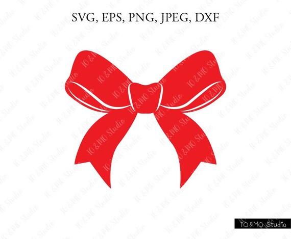 Christmas Bow Svg.Christmas Svg Christmas Bow Svg Christmas Clip Art Bow Svg Bow Cricut Silhouette Cut File