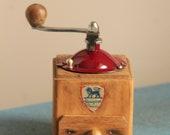 Antique pepper grinder Peugeot M model.