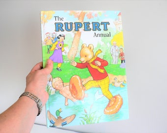 Vintage 90's The Rupert Annual Hardcover Book