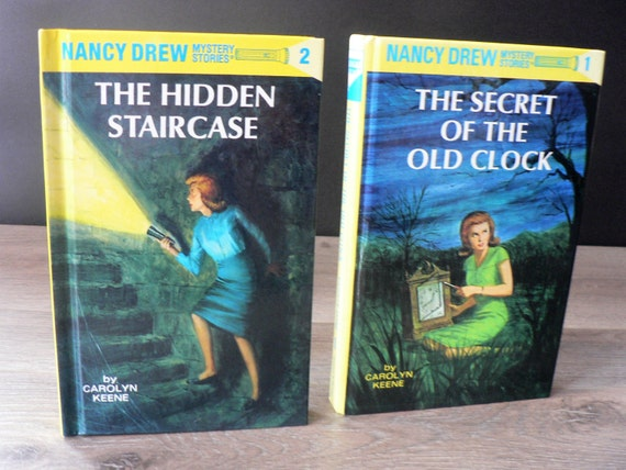 Genial Vintage Nancy Drew Book Pair The Hidden Staircase And The | Etsy