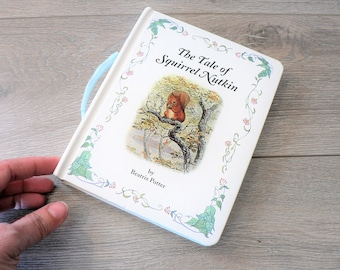 Vintage Beatrix Potter The Tale of Squirrel Nutkin Children's Classic Storybook