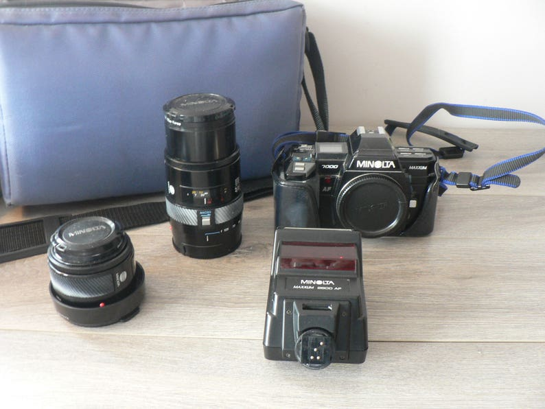 Minolta Auto Focus Kamera Elegant Im Stil Analoge Fotografie Foto & Camcorder
