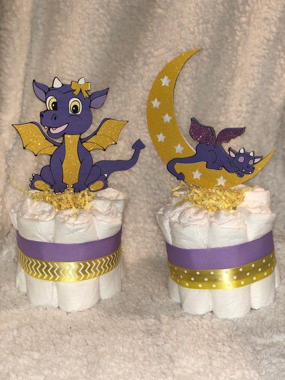 Baby Dragon Mini Diaper Cake