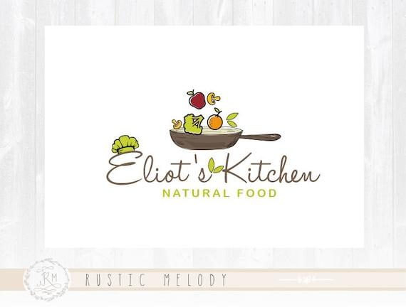 Bakery Logo Design Kitchen Vegan Food Restaurant