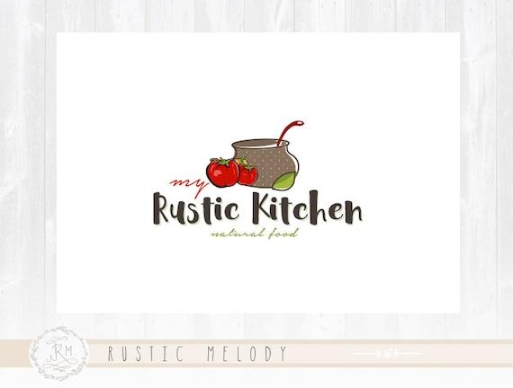 Food Logo Design Restaurant Natural Organic