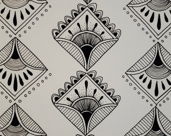 Limited Edition series Pen and Ink Pattern