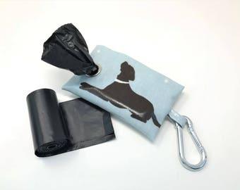Poop Bag Holder - Dog Poo Bag Dispenser - Labrador Poo Bag - Labrador Poo Bag Holder - Poo Bag Holder - Dog Poo Bag Holder - Poop Bag - Dog