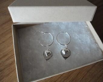 Heart Interchangeable earrings