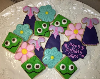 Tangled Sugar Cookies 2 Dozen