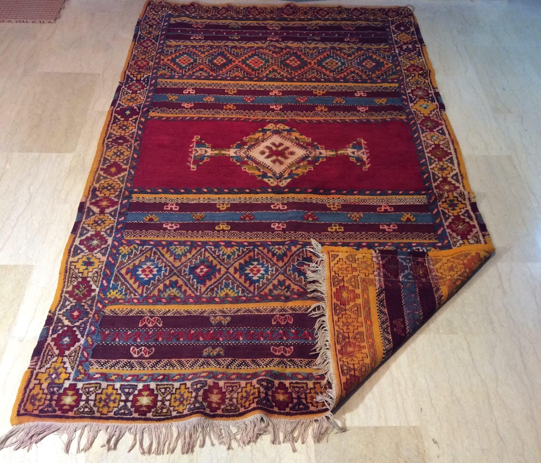 vintage tazenakht moroccan rug 8 1 ft x 4 9 ft 247 cm x 149 cm fast worldwide shipping. Black Bedroom Furniture Sets. Home Design Ideas