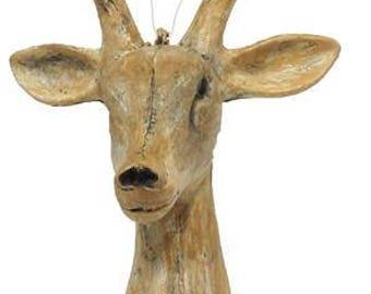 Deer Head Ornament - Christmas Decor - XY7997ET