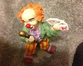 Playing Card Clown
