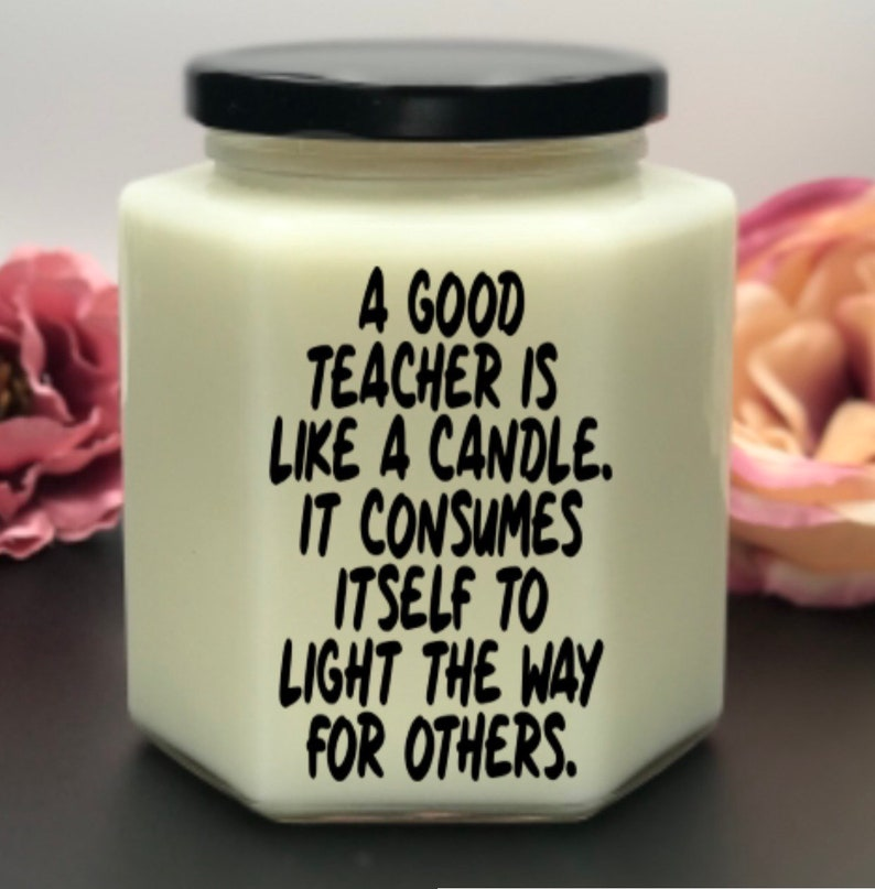 Teacher candle ~ teacher appreciation ~ soy candle ~ gift ~ candles ~  candles ~ home decor ~ personalized candle ~ teacher gift