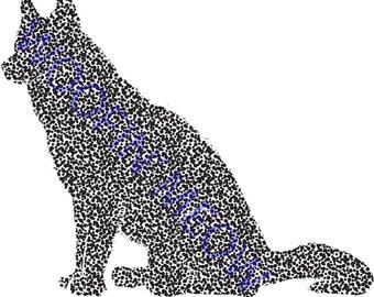 Golden Retriever Svg Golden Retriever Silhouette Dog Etsy
