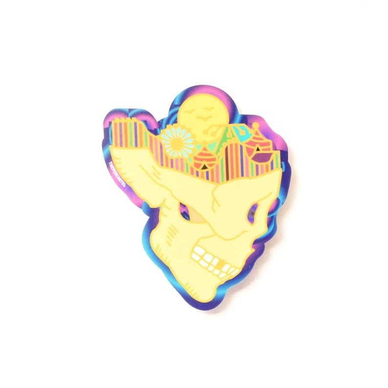 74c7f485ababa Daydreaming dye Cut Carnival Sticker