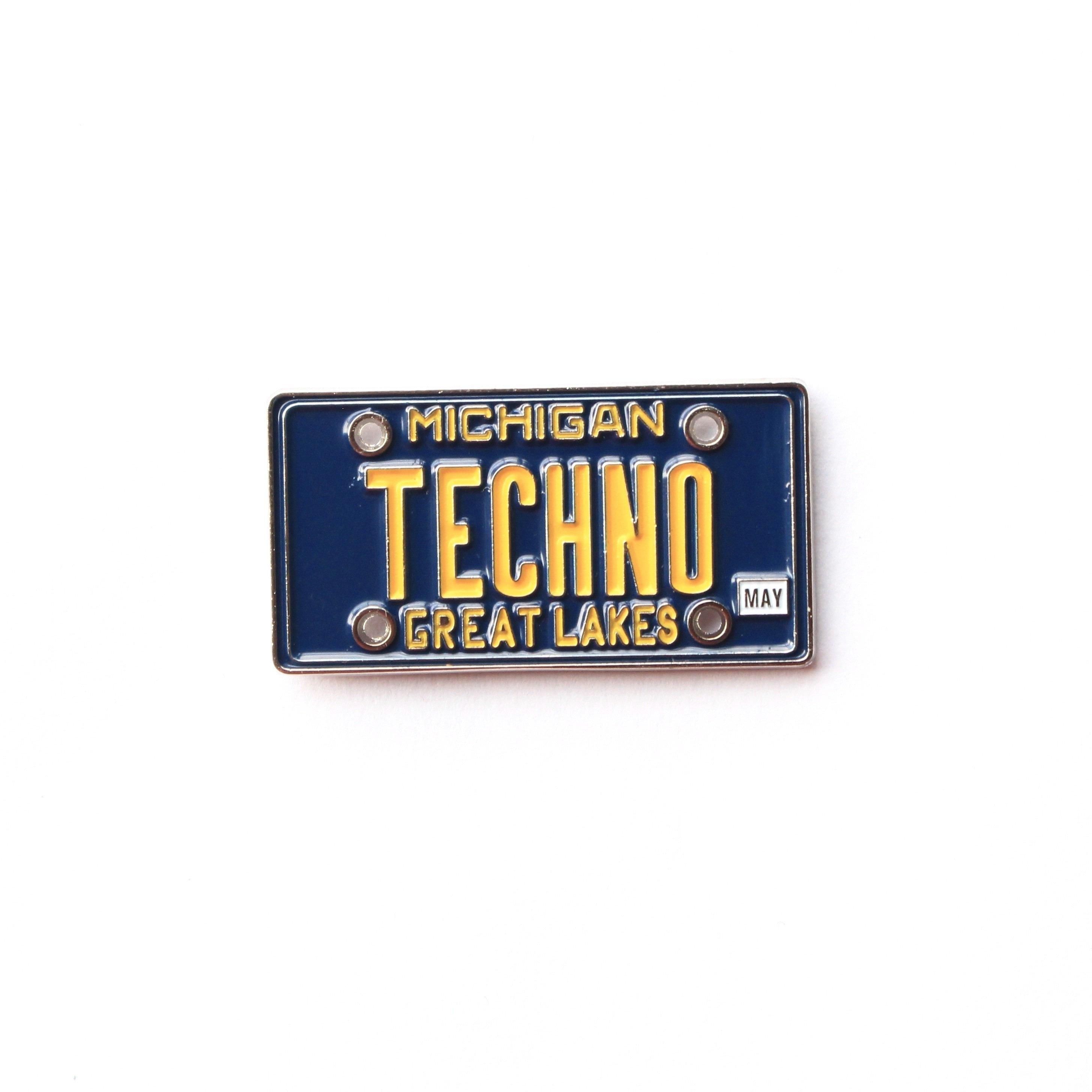 1001b94aa4dfa Michigan Techno License Plate