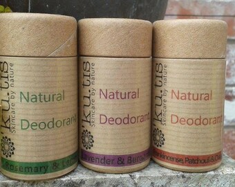 All Natural Deodorant (that works!)