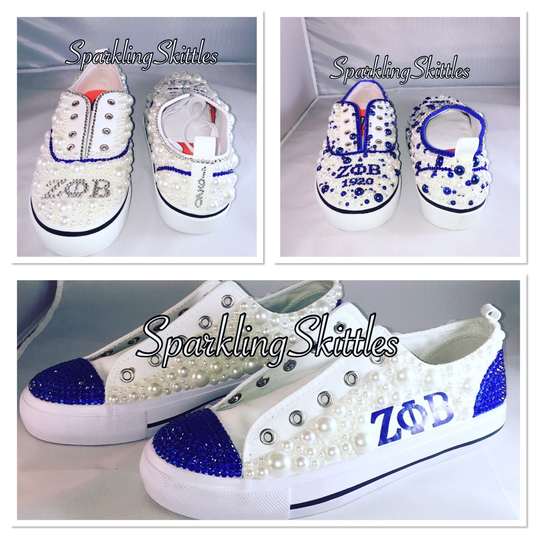 Zeta Phi Beta shoes