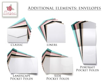 Additional Elements - Envelopes (Pack of 25)