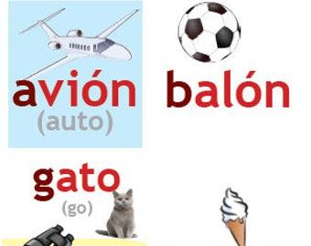Spanish Classroom Materials, Spanish Alphabet, Alfabeto