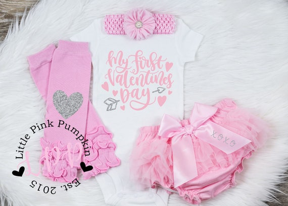 Girl S Valentines Day Outfit Baby Girl Valentines Shirt My Etsy