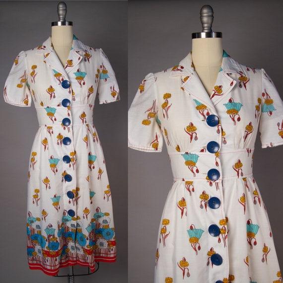 Vintage 1980s | Vintage Dress | 1980s does 1940s … - image 1