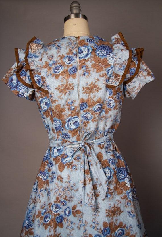 Vintage 1950s   Volup Vintage Dress   Floral Summ… - image 8