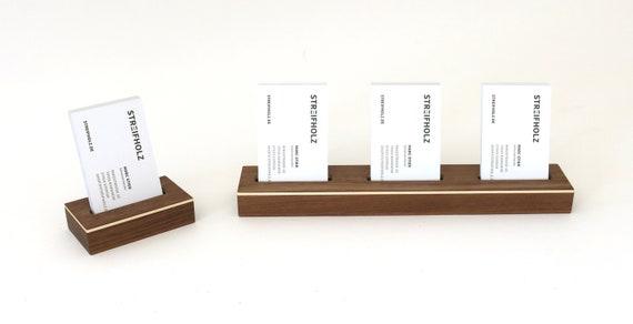 Visitenkarten Aufsteller Holz Einfach Mehrfach Visitenkartenständer Visitenkarten Halter Visitenkartenhalter Tisch Messe Ausstellung Empfang