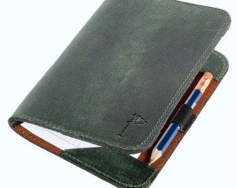 Golf Scorecard Holder, Golf Gift for Man, Yardage Book Holder, Gift for Dad, Gifts for Golfers, Personalized Olive