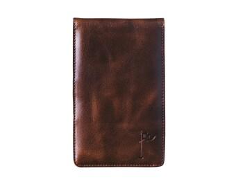 Golf Scorecard Holder, Golf Gift for Man, Yardage Book Holder, Gift for Dad, Gifts for Golfers, Personalized Boubon
