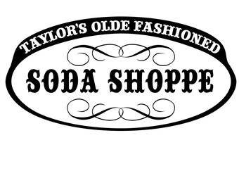 Gilmore Girls - Soda Shoppe - svg file