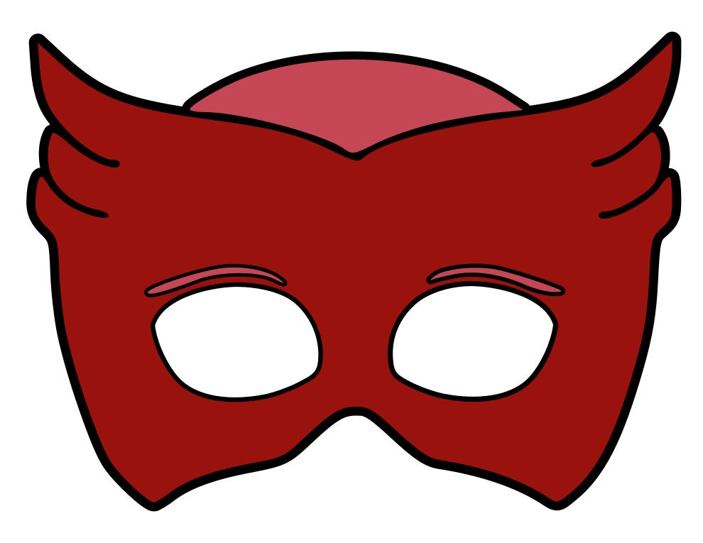 It is a picture of Unusual Pj Mask Template