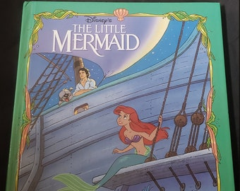 Disney The Little Mermaid Story Book