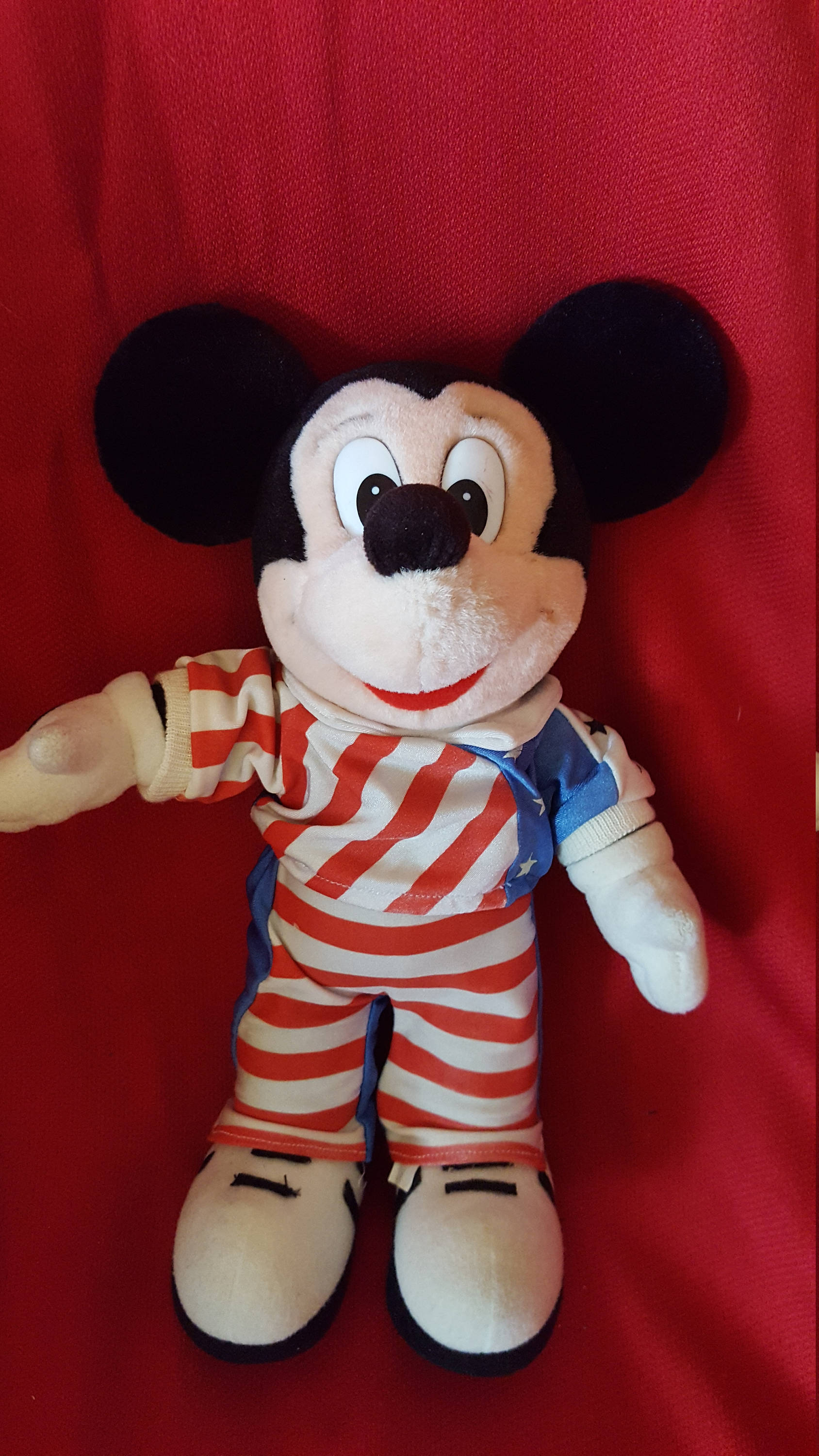 c6abaf2463e Disney Poseable Mickey Plush