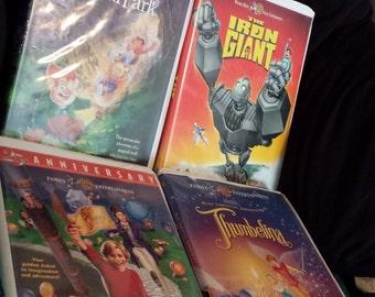 Warner Bros VHS collection